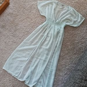 BNWOT ASOS Beach Vacation Dress Sheer Cover-up